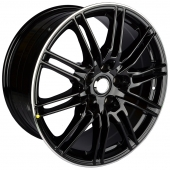 Zumbo Wheels A0018L 9.5x20/5x130 D71.6 ET48 ML/B