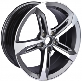 Zumbo Wheels 85006I 8x18/5x112 D66.6 ET35 Grey Machine