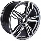 Zumbo Wheels 85191J 8.5x18/5x120 D72.6 ET25 Grey Machine